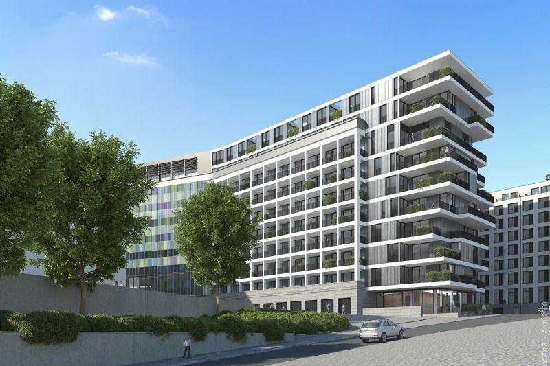 Réaffectation de bureaux en logements Cité administrative de l'Etat