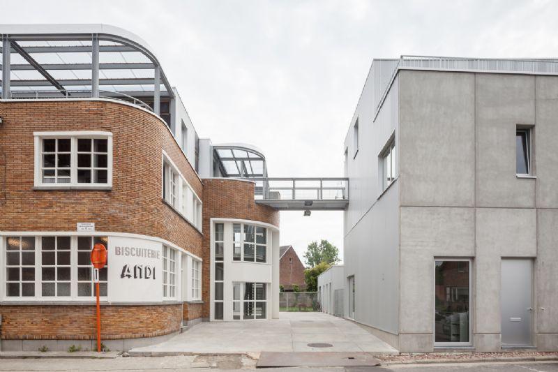 Habitations dans une ancienne usine Hogeweg