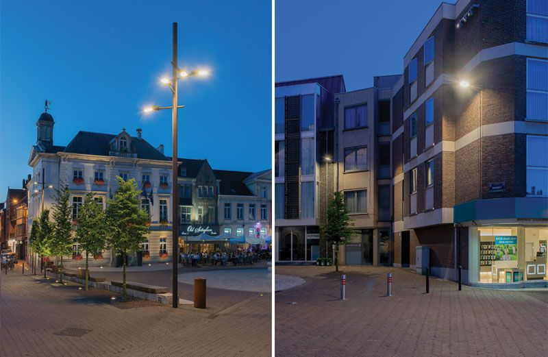 Renovatie van het centrum van Zottegem