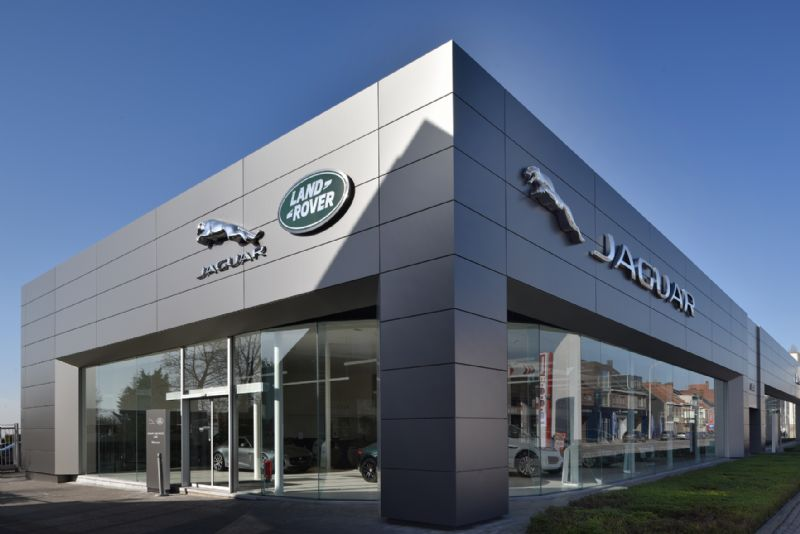 Rénovation de la concession Jaguar Land Rover