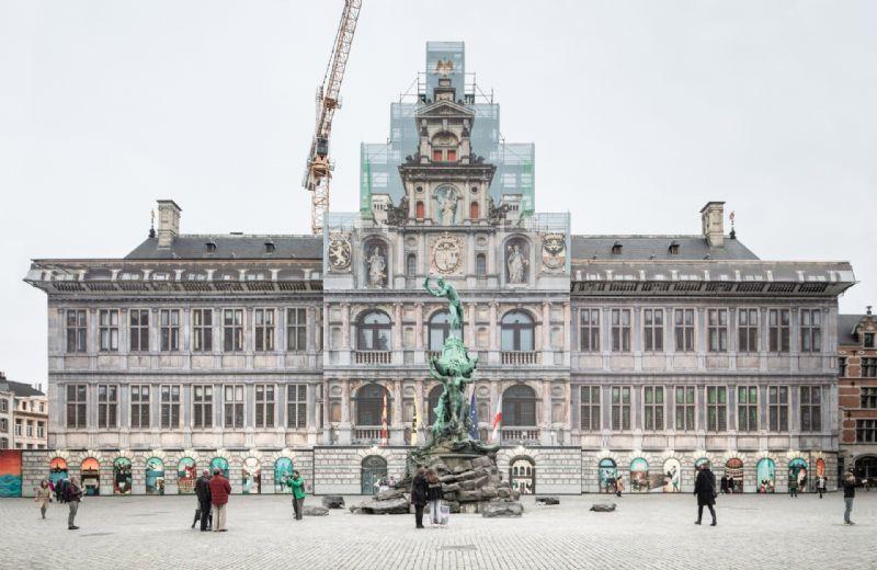Stadhuis Antwerpen: renovatie en restauratie