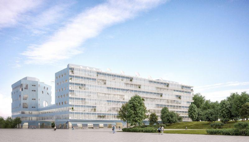Nieuw VRT-gebouw
