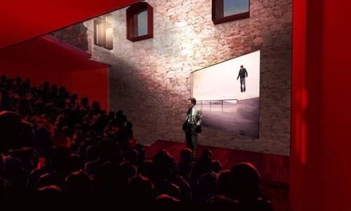 Verbouwing Brouwershuis Dominikanen tot auditorium  voor St. Lucas in Gent