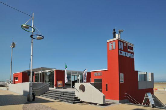 Badengebouw Zeebrugge