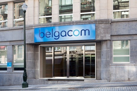 Réaménagement hall d'entrée Belgacom