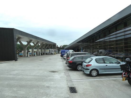 Nouvelles stations-services Texaco-servicestations à hauteur de l' E40 à Drongen