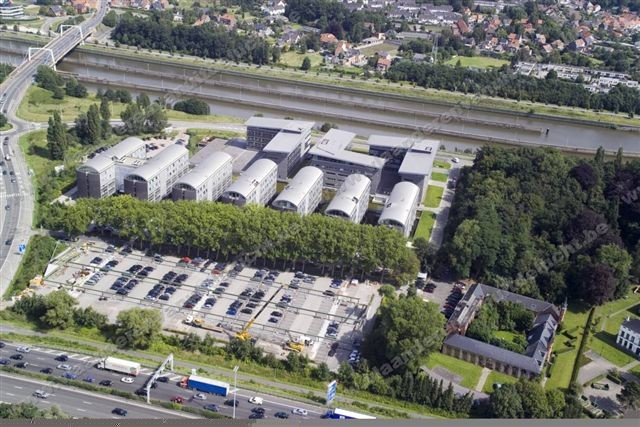 Axxes Business Park in Merelbeke
