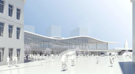 Mechelen Stationsomgeving