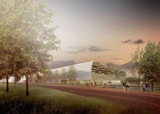 Uitbreiding sporthal campus Schoonmeersen