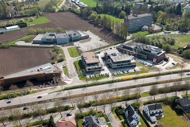 Ekkelgarden Business parc met o.m. nieuwe gebouwen Confederatie Bouw Limburg