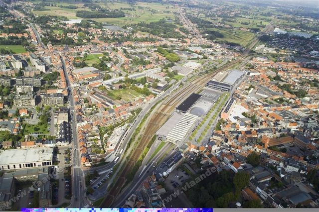 Stationsomgeving Sint-Niklaas