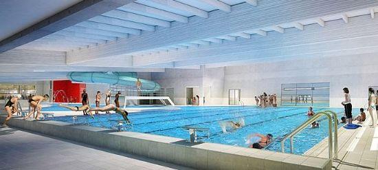 Nouvelle piscine à Poperinge