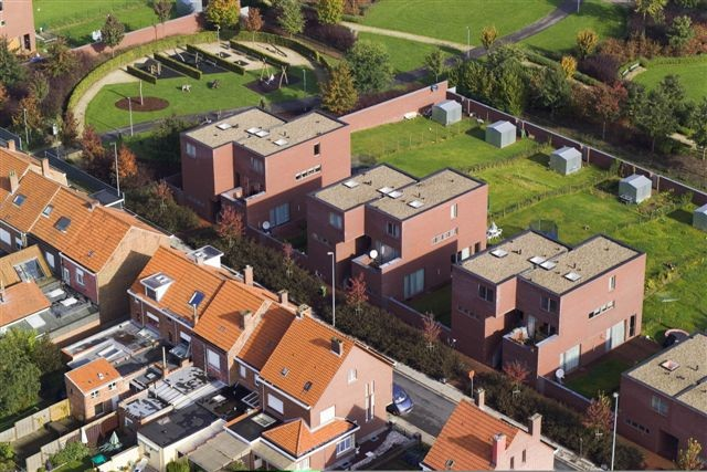 Sociale woningen Heideberg Kessello (BOB361)
