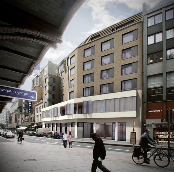 Renovatie Kantoorgebouw tot hotel (Pelikaanstraat)