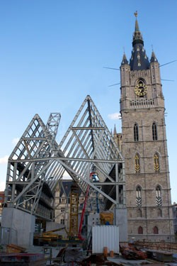 Stadshal Gent + Herinrichting Emile Braunplein