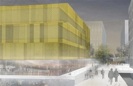 Berchem X, nieuw kantorencomplex/gebouwencollectief