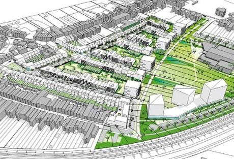 Woonproject 'Groen Zuid' Hoboken